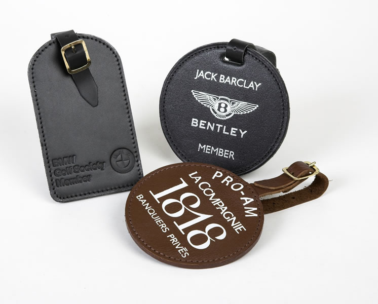 Leather Golf Bag Tags