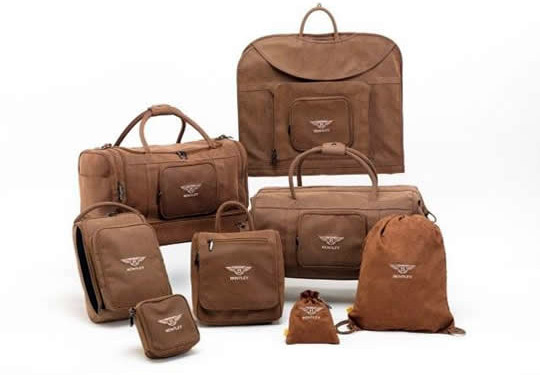 The ICON range of stylish, customisable golfers' luggage