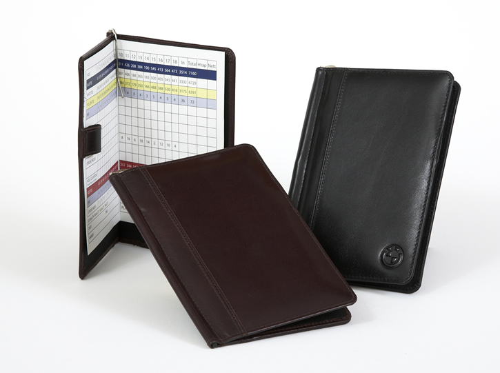 3b11bed4994e7 Custom Golf Scorecard Holders | Crafted, Embossed Leather Wallets