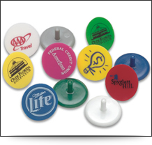 Personalised Plastic Golf Ball Markers